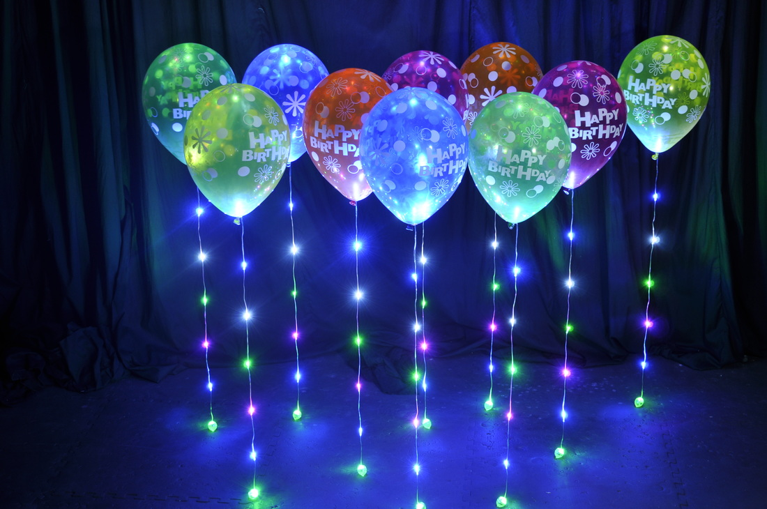 Picture Happy Birthday 30cm Latex Balloons With Beautiful Mulitcoloured
